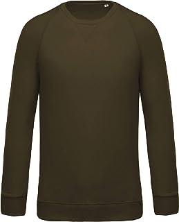 Kariban Organic Cotton Crew Neck Raglan Sleeve Sweatshirt Blank Plain KB480