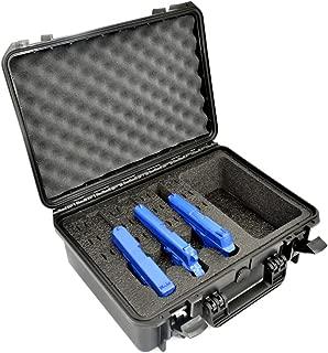 3 Pistol 12 Magazine + Accessories Storage Doro Waterproof Pistol Case with Custom Mycasebuilder Foam Insert
