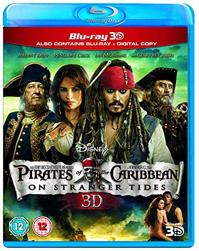 Pirates of the Caribbean: On Stranger Tides (Blu-ray 3D + 2D Blu-ray) [Region Free]