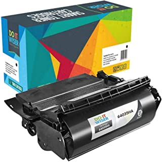 Do it Wiser Compatible Toner Cartridge Replacement for Lexmark 64035HA T640 T644 T642-21,000 Pages High Yield