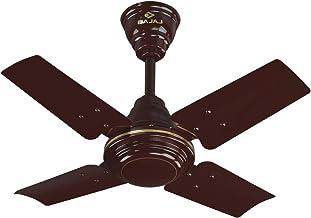 Bajaj Maxima 600 mm Ceiling Fan (Brown)