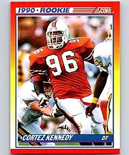 1990 Score #299 Cortez Kennedy RC Rookie