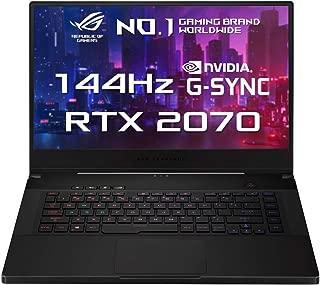 Asus ROG Zephyrus GX502GW-AZ088T Gaming Laptop (Black) - Intel i7-9750H 4.5 GHz, 16 GB RAM, 1000 GB SSD, Nvidia GeForce RTX 2070, 15.6 inches,Windows 10, Eng-Arb-KB