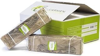 Papeles El Carmen Bolsa Bocadillo de Papel, Marrón, 10x35 +4cm, 500 Unidades