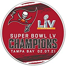 Fremont Die NFL Tampa Bay Buccaneers 2021 Super Bowl LV Champions 12-Inch Magnet