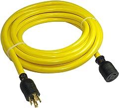 Conntek 20621-025 25-Feet 3Phase 30A 250V L15-30 SJTW 10/4 Locking Extension Cord