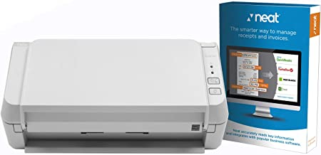 $232 » Fujitsu ScanZen EKO+ Document Scanner for PC, Powered with Neat Software - TWAIN Compliant