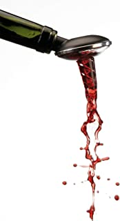 OxyTwister Your Wine Aerator Pourer and Premium Decanter, Original Danish Design, with This accessorie Your red Wine Will be Many Times Better Even After 8 Days, Enjoy This Unique Product