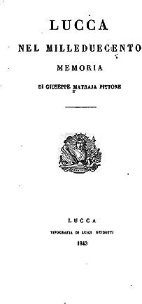 Lucca nel Milleduecento, memoria