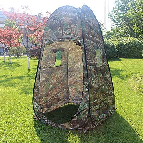 juman634 Pop-up Tente Camouflage Camping Douche Salle De Bain Toilette Confidentialité Vestiaire De Stockage Unique Mobile Pliable Loyer en Plein Air Chasse
