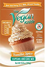 The Vegan Knife Gluten Free & Vegan Cupcake and Cake Mix Vanilla Spice Flavor