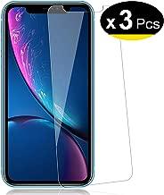 """NEW'C Lot de 3 Verre Trempé pour iPhone 11 / iPhone XR (6.1""""), Film Protection écran - Anti Rayures - sans Bulles d'air -Ultra Résistant (0,33mm HD Ultra Transparent) Dureté 9H Glass"""