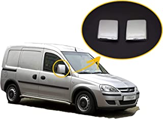 for CADDY 2003-2014 MINIVAN ABS CHROME Wing Mirror Cover Protector Left/&Right Left Handed Driver 2 Pcs