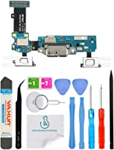 OmniRepairs-Charging Micro-USB Dock Port Flex Cable with Microphone, Touch Key Ribbon Replacement For Samsung Galaxy S5 G900A (AT&T) and Repair Toolkit (SM-G900A)