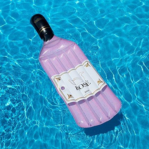 Funshine piscina gonfiabile bottiglia di rose float