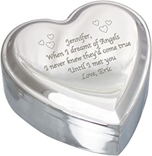 engraved heart jewelry box
