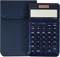 $58 » Office Electronics Business Calculator 12-bit HD Display Ultra-Thin Dual-Power Solar Button Battery Double Insurance Thick...