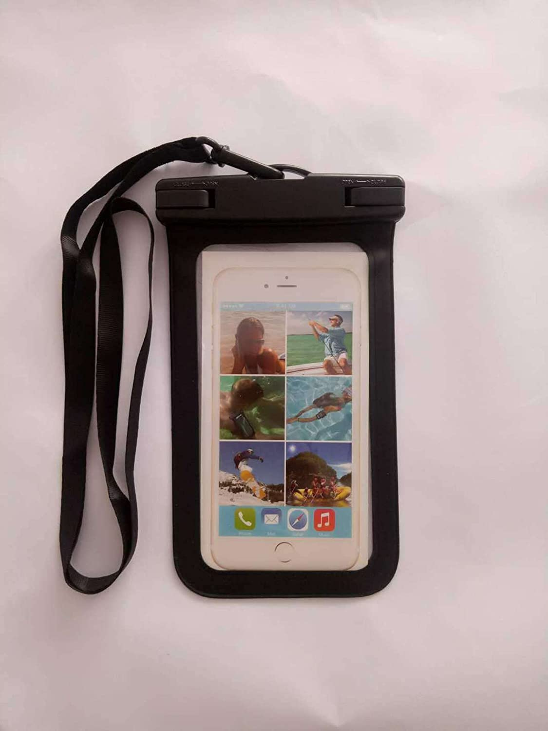 NC Universal Waterproof Case,Waterproof Phone Pouch Compatible for iPhone 12 Pro 11 Pro Max XS Max XR X 8 7 Samsung Galaxy S10/s9 Google Pixel 2 HTC Up to 7.0