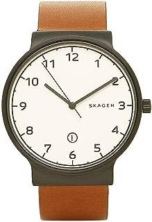 [スカーゲン] 腕時計 SKAGEN SKW6297 ホワイト ブラック ブラウン [並行輸入品]