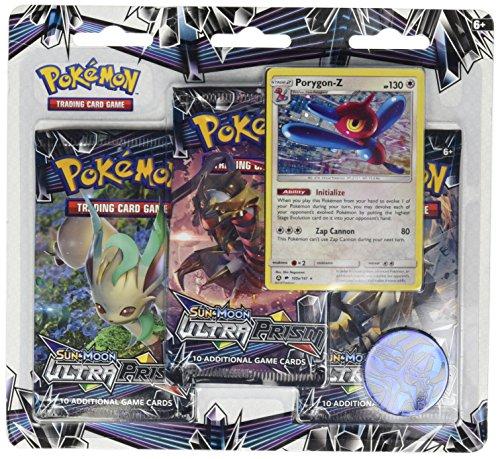 Pokemon TCG: Sun & Moon Ultra Prism Three-Booster Blister