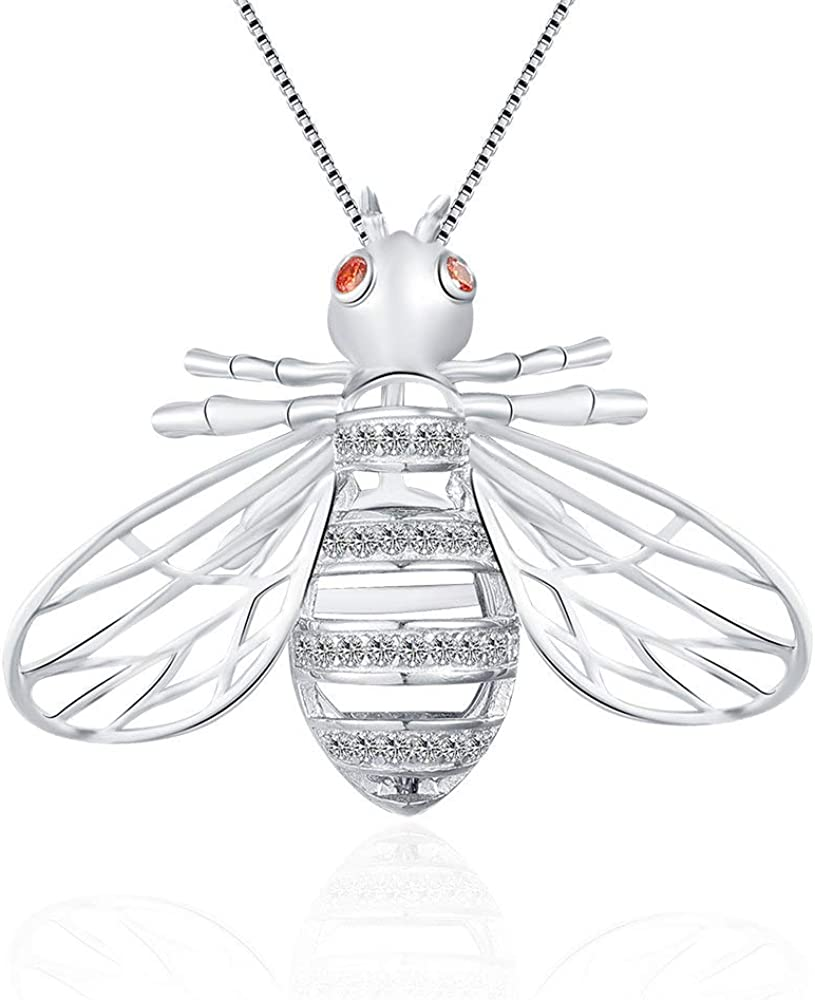 LGSY CZ Special price for a limited time Bee Dallas Mall Cage Pendants Crafting for Charm Necklace Bracel DIY