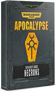 Warhammer 40K: Apocalypse Datasheets - Necrons