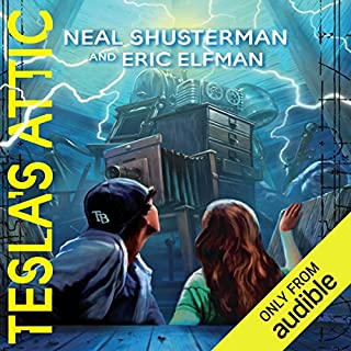 Tesla's Attic     The Accelerati Trilogy, Book 1              By:                                                                                                                                 Neal Shusterman,                                                                                        Eric Elfman                               Narrated by:                                                                                                                                 Vikas Adam                      Length: 8 hrs and 18 mins     171 ratings     Overall 4.4