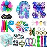 Fidget Toys Pack, Fidget Toy Sets Fidget Pack Barato, Simple Dimple Fidget, Push Bubble Fidget Juguete Sensorial Para Niños (A10)