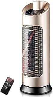 Radiador eléctrico MAHZONG Torre de Giro compacta con Control Remoto y Temporizador 3 Pantalla LED de Ajuste de Calor y Filtro de Polvo Desmontable - 2000W