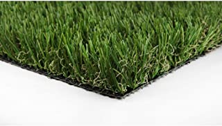 GREENLINE Classic 54 Fescue Artificial Grass Synthetic Lawn Turf Carpet for Outdoor Landscape 7.5 ft. x Customer Length