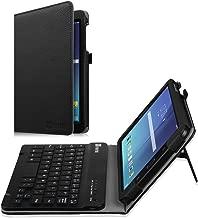 Fintie Keyboard Case for Samsung Galaxy Tab E 8.0, Slim Fit Folio PU Leather Case with Detachable Magnetical Bluetooth Keyboard for Galaxy Tab E 32GB SM-T378/ Tab E 8.0 SM-T375/T377, Black