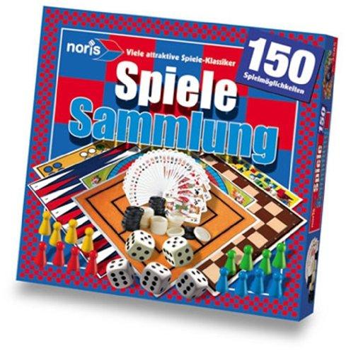noris 2585 - Spielesammlung mit 150 Möglichkeiten