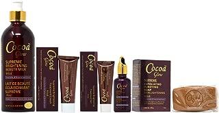 Cocoa Glow Package I (Lotion 16.8oz + Soap 7oz + Cream 1.7oz + Gel 1oz + Serum 1.66oz)