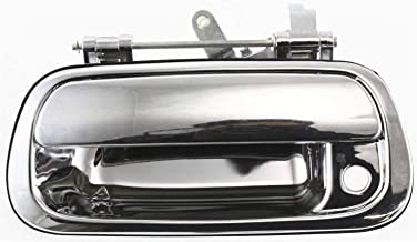 Tailgate Handle Compatible with Toyota Tundra 2000-2006 Outside All Chrome