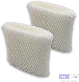 Pureburg 2-Pack Replacement Wick Filters for Honeywell HC-888 Series Filter C Fits Honeywell HC-888N HCM-890 Series HCM-890C HCM-890-20 HEV320 Series Duracraft DCM-200 DH-890 DH890