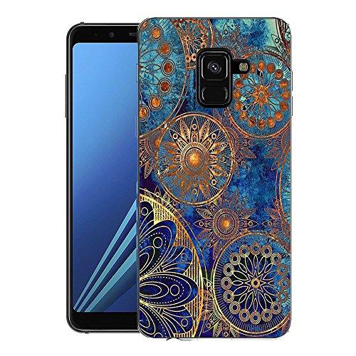 Samsung Galaxy A8 2018 Handy Tasche, FoneExpert® Ultra dünn TPU Gel Hülle Silikon Hülle Cover Hüllen Schutzhülle Für Samsung Galaxy A8 2018