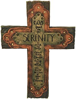 Carson Home Accent Serenity Prayer Cross