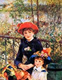 Renoir Pierre Auguste On the Terrace Sun p1926 A4 Poster -