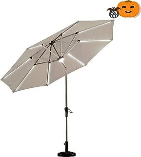 Best sundale outdoor solar powered patio umbrella Reviews