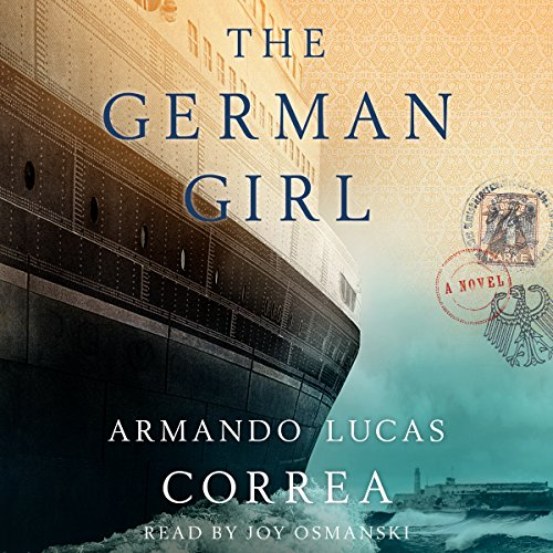 The German Girl audiobook cover art