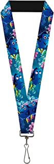 Buckle Down Lanyard-1.0-Dory 3-Poses/Bubbles Under The Sea