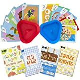 Imagination Generation Set of 4 Classic Children's Card Games with 2 Hands-Free...
