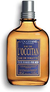 L'Occitane Fresh L'Occitan Eau de Toilette for Men, 3.4 Fluid Ounce