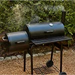 Texas Starter Smoker & BBQ Charcoal Barbecue Ideal for Home Garden Party BBQ 4