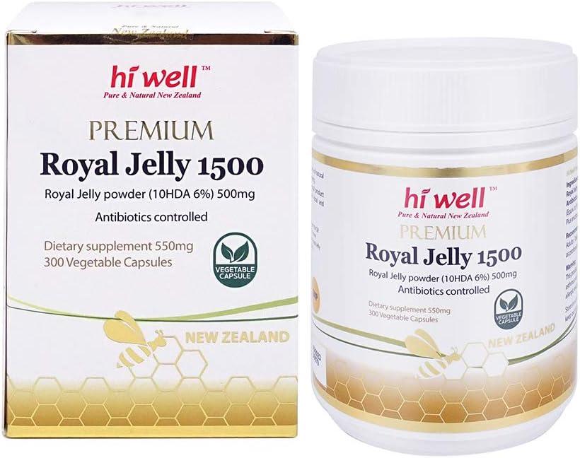 Hi Well Premium Finally resale start Royal 1500 Capsules 1 year warranty Jelly 300Vegetable