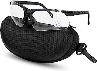 عینک شلیک XAegis با کیس ، عدسی پلی کربنات و لاستیک بینی ضد آفتاب شکار ضد مه شکن برای مردان و زنان - محافظت از چشم