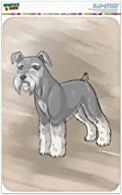 "Graphics and More Miniature Schnauzer Dog Home Business Office Sign 12"" x 18"" Aluminum Metal Signs"