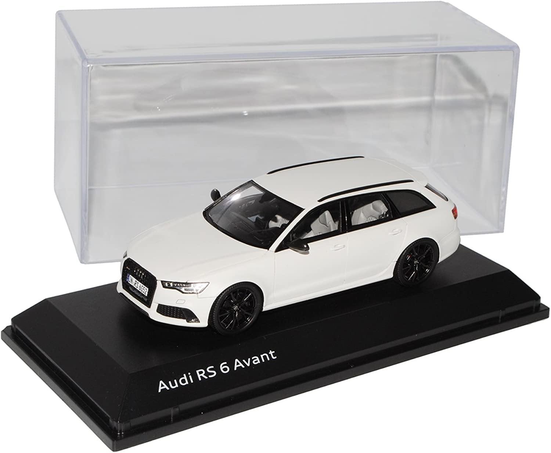 Spark Defektes Modell Audi A6 RS6 C7 Avant Kombi Gletscher Weiss Ab 2013 1 43 Modell Auto B07252YM2L Moderater Preis    Online Shop