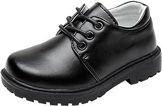 d05f8e3e85ab89 Juleya Chaussures de Cérémonie Garçon Enfant Noir Mariage - 180626XSPX07