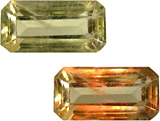 Deluxe Gems 3.65 ct Octagon Cut (12 x 6 mm) Unheated/Untreated Turkish Color Change Diaspore Natural Loose Gemstone